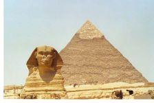 Esfinge y pirámides de Gizé